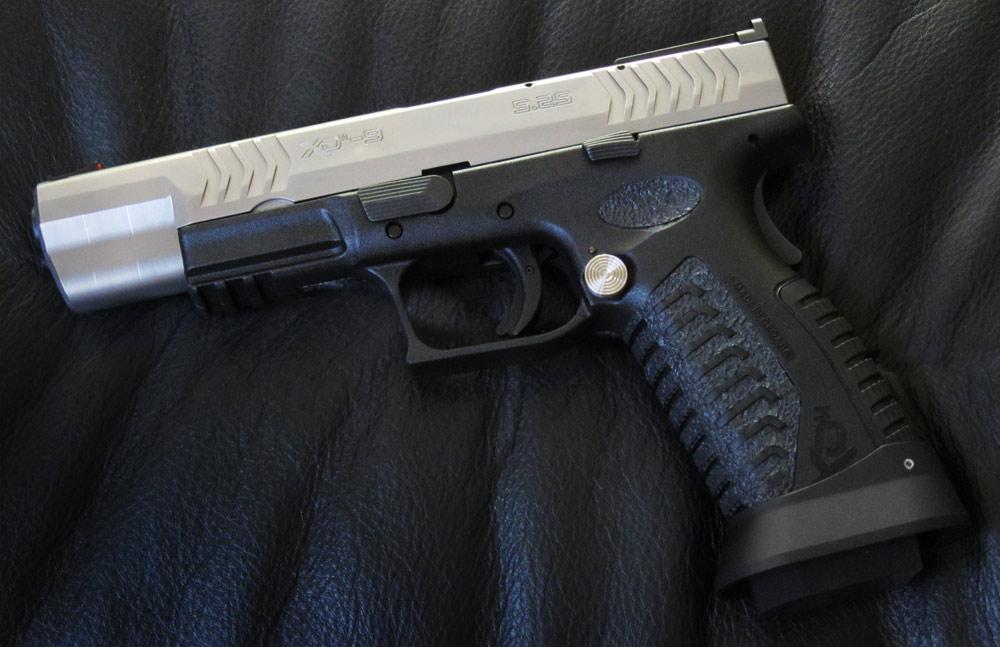 Xdm 9mm Bitone 5.25 Wts Springfield 9mm Xdm 5.25